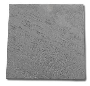 400 x 400 Charcoal Limestone Finish