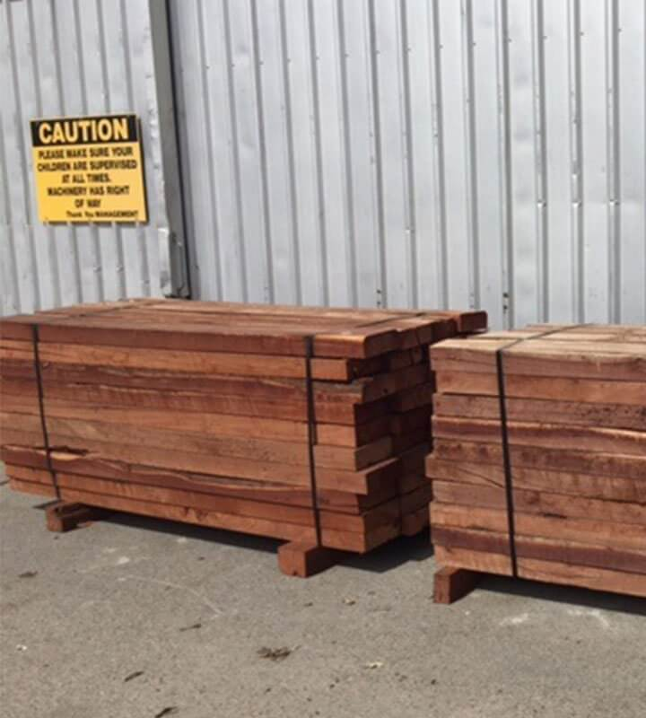 Wood Sleepers